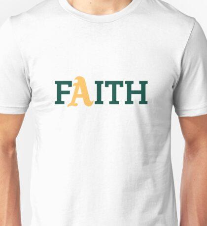 Oakland A's Faith Unisex T-Shirt