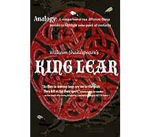King Lear: Analogy-How the gods see us Photographic Print