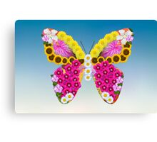 Blooming Butterfly Canvas Print