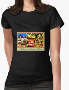 Schongau Christmas Fair Womens Fitted T-Shirt