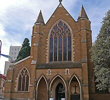 Cathedral Church of St David, Hobart, Tasmania, Australia by Margaret  Hyde