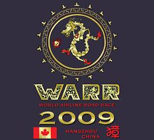 "WARR 2009 ""One World, One More Dream"", Hangzhou, China Unisex T-Shirt"