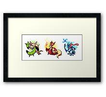 Kalos Starters Framed Print