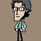 Otacon Sprite - Metal Gear Solid 2 / Sons of Liberty by S M K
