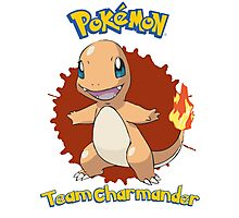 Team Charmander - Pokemon X Y Photographic Print