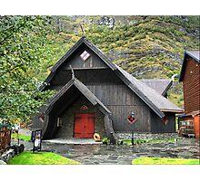 The Flåm Viking House. (1) Photographic Print