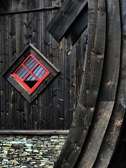 The Flåm Viking House. (3) by Larry Lingard-Davis
