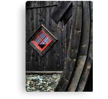 The Flåm Viking House. (3) Canvas Print