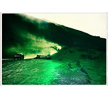 Rough roads  Photographic Print