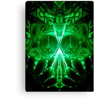 I Come In Peace, Take Me To Your Leader Canvas Print