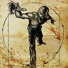 Vitruvian Zombie Unleased by David Lange