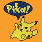 Pika Pikachu - Pokemon Yellow Version by S M K