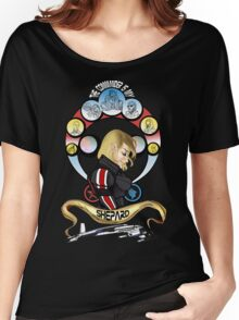 The Commander is my Shepard (BLONDE EDITION) Women's Relaxed Fit T-Shirt