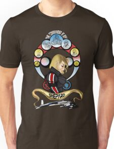 The Commander is my Shepard (BLONDE EDITION) Unisex T-Shirt