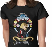 The Commander is my Shepard (BLONDE EDITION) Womens Fitted T-Shirt
