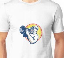 Cameraman Film Crew HD Video Camera Unisex T-Shirt