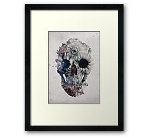 Floral Skull 2 Framed Print