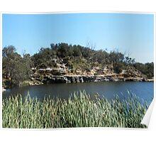 Green Lake, Yamba, Australia. Poster