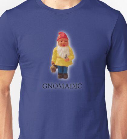 Nomadic Spin on Gnome - Gnomadic Unisex T-Shirt