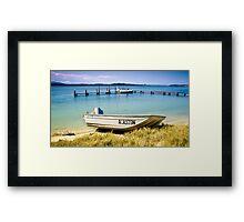 Manning Point nsw 01 Framed Print