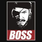 Obey The Boss - MGSV by Bucky Sentry