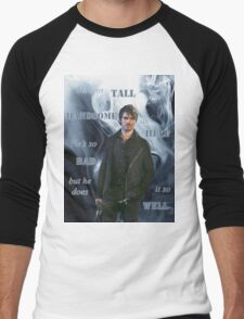 Dark!Hook Men's Baseball ¾ T-Shirt