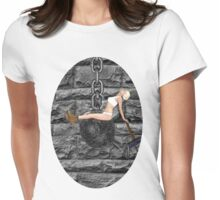 ✿♥‿♥✿ I CAME IN LIKE A WREAKING BALL--TEE SHIRT..-I NEVER HIT SO HARD IN LOVE-MILEY CYRUS SPOOF-WREAKING BALL SONG VIDEO INCLUDED✿♥‿♥✿  Womens Fitted T-Shirt