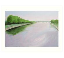 Trent Bridge Art Print
