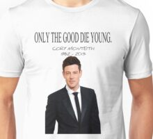 RIP Cory Monteith Unisex T-Shirt