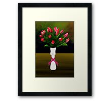 SURREALISM - A Lady's Cancer Framed Print