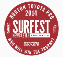 surfest 2014 red Kids Clothes