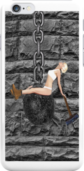 ✿♥‿♥✿ I CAME IN LIKE A WREAKING BALL--IPHONE CASE..-I NEVER HIT SO HARD IN LOVE-MILEY CYRUS SPOOF-WREAKING BALL SONG VIDEO INCLUDED✿♥‿♥✿  by ✿✿ Bonita ✿✿ ђєℓℓσ