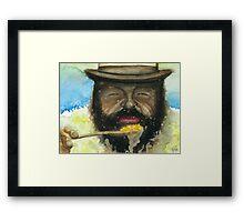 Bud Spencer & Beans Framed Print