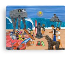 Surf Wars Canvas Print