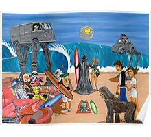 Surf Wars Poster