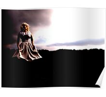 Lady in White Poster