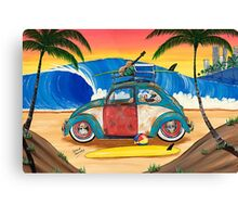 Beetle Days Canvas Print