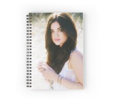 Lucy Hale Spiral Notebook