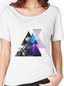 Triangle Music Collage Women's Relaxed Fit T-Shirt
