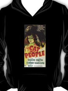 Vintage Cat People Movie T-Shirt