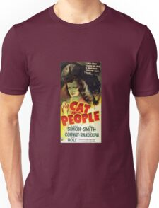 Vintage Cat People Movie Unisex T-Shirt