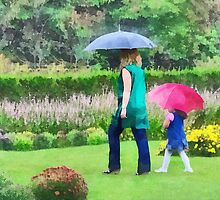 Rainy Day in the Garden by Susan Savad