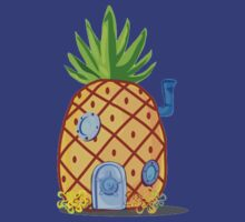 Spongebob Pineapple by ehmehli
