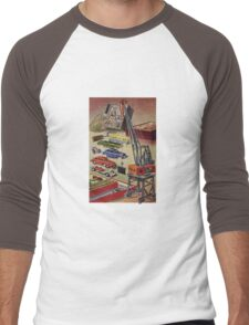 Vintage toys Men's Baseball ¾ T-Shirt