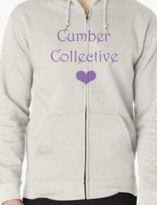 Cumber Collective <3  Zipped Hoodie