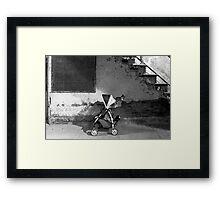 Abandoned - Left behind  Framed Print