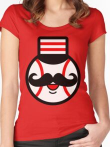 Cincinnati Redlegs Women's Fitted Scoop T-Shirt