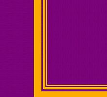 Yellow Curve Line ~Purple~ by V-Art