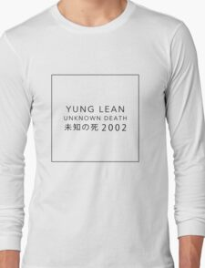 YUNG LEAN: UNKNOWN DEATH 2002 Long Sleeve T-Shirt