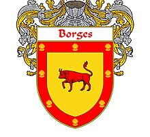 Borges Coat of Arms/Family Crest by William Martin
